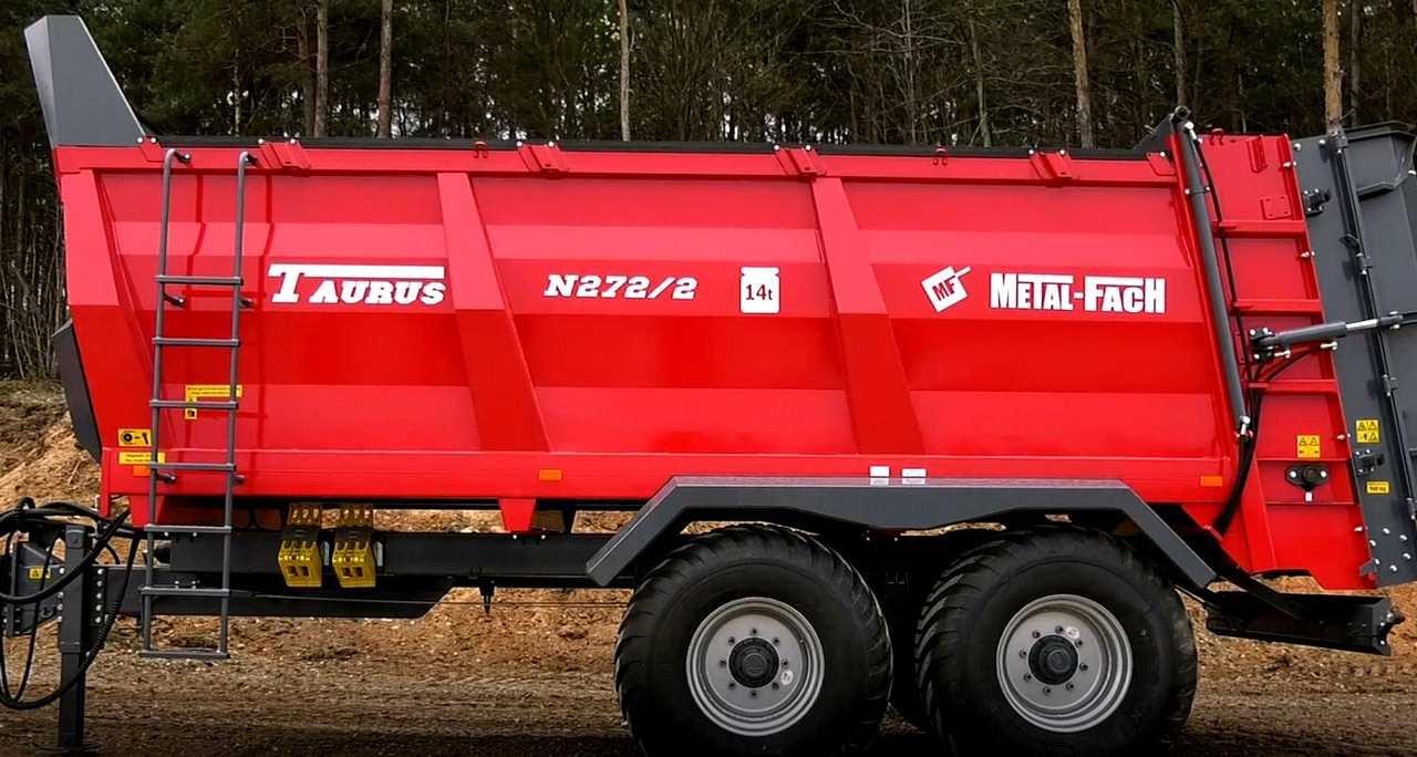 Разбрасыватели органических удобрений Metal-Fach N-272/2